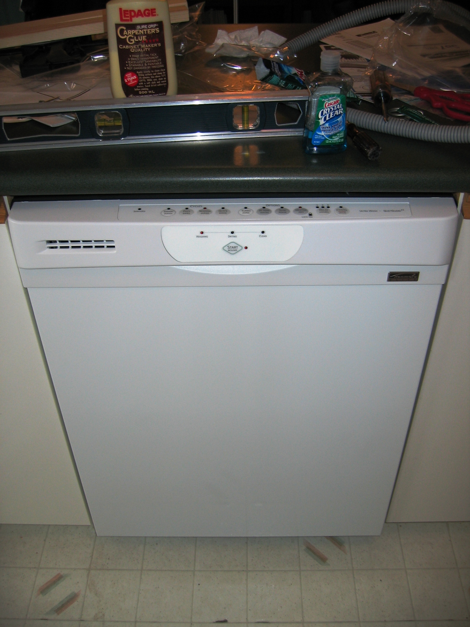 The New Dishwasher In Place I Wasn T Expecting To Be Able